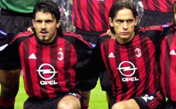 inzaghi gattuso e crespo alla partita di solidariet marted 10 luglio a s martino spino per. Black Bedroom Furniture Sets. Home Design Ideas