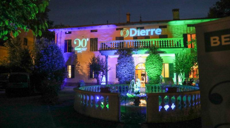 Il Gruppo Dierre festeggia i 20 anni di impresa con tutti i dipendenti