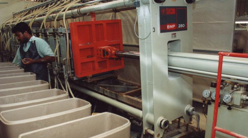 Sacmi Sanitaryware, impianto modello in Africa centrale e occidentale
