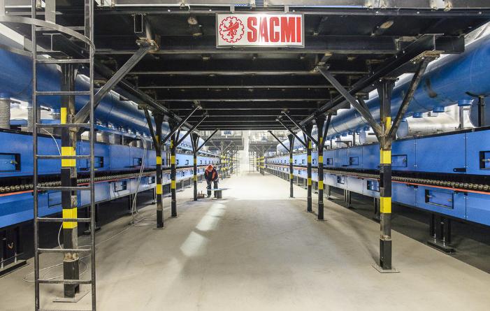 Epicenter K, nuovo impianto completo SACMI nella regione di Kiev